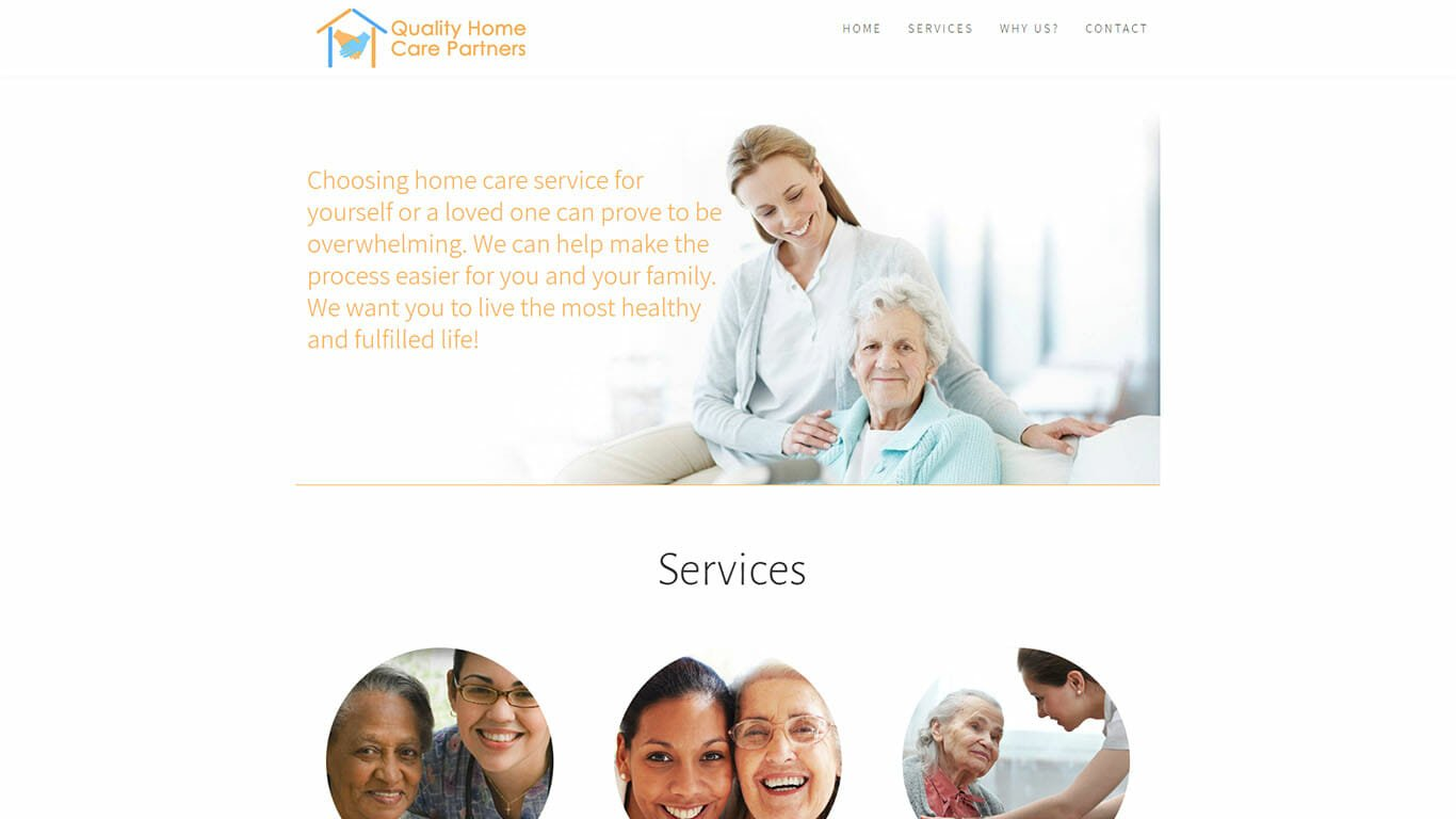 Attractive Home Care Website Design Collection - Home Decorating ...