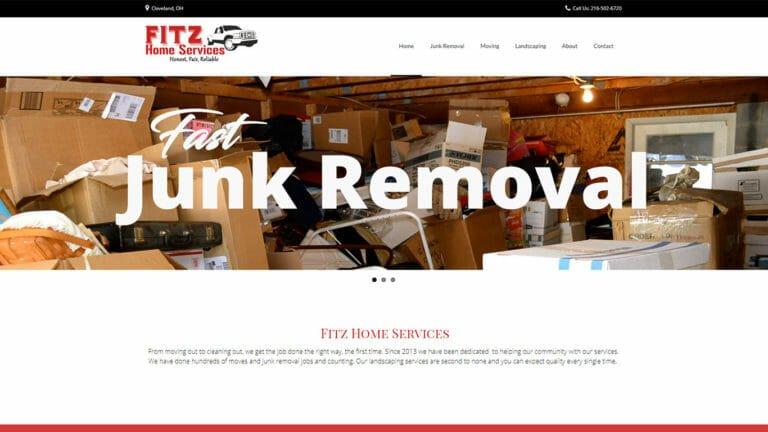 Fitz Home Services Web Design