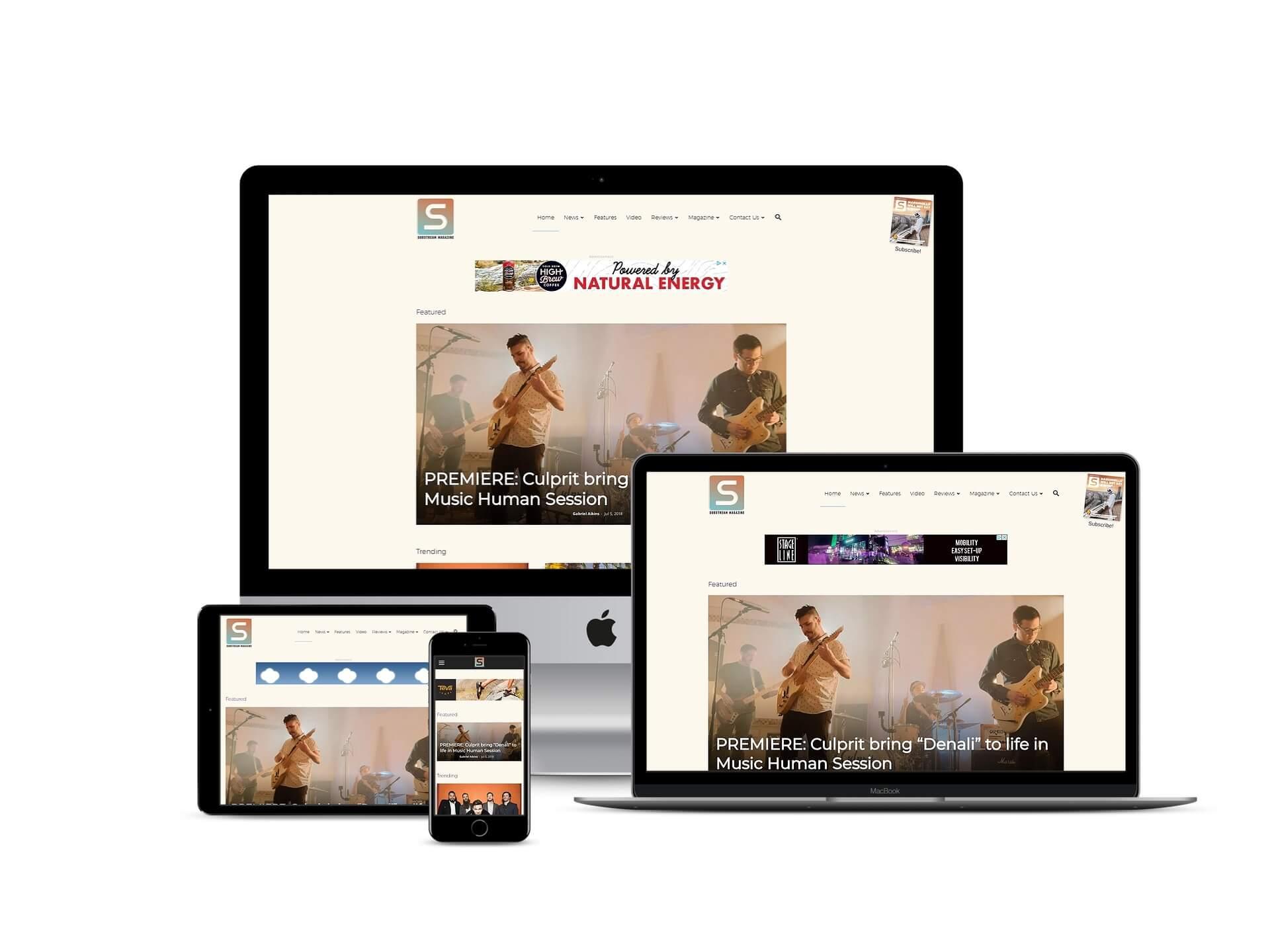 MarvelousWeb Media Web Design 1